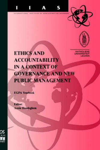 Ethics and Accountability in a Context of Governance and New Public Management 9789051994193