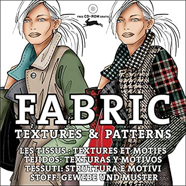 Fabric Textures& Patterns + CD ROM 9789057681127