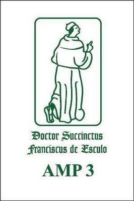 Francisci de Marchia-Quaestiones in Secundum Librum Sententiarum (Reportatio)