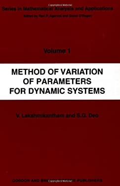 Method of Variation of Parameters for Dynamic Systems - Lakshmikantham, V.