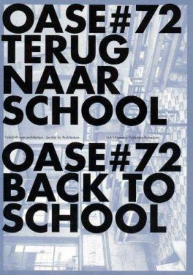 OASE 72 Terug naar school/OASE 72 Back to School 9789056625832