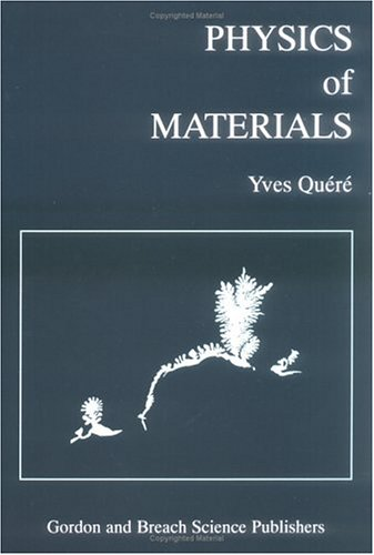 Physics of Materials 9789056991197