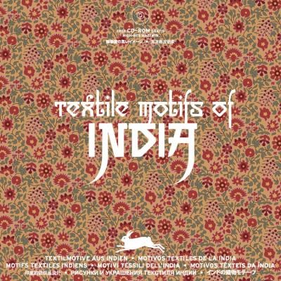 Textile Motifs of India [With CDROM] 9789057680755