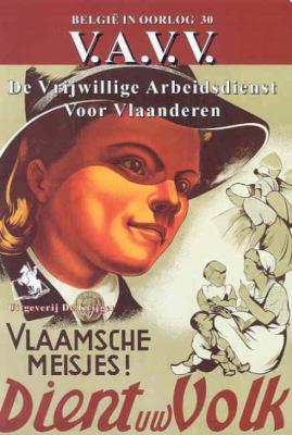 V.A.V.V.: de Vrijwillige Arbeidsdientst Voor Vlaanderen 9789058680228