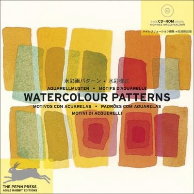 Watercolour Patterns + CD ROM 9789057680762
