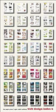 Web Design Index 6 [With CDROM] 9789057680939