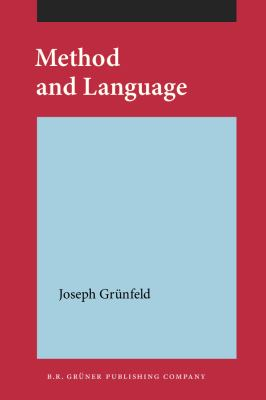 Method and Language 9789060321102