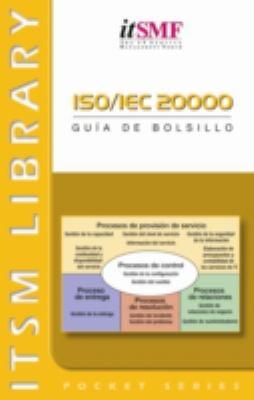 ISO/IEC 20000: Guia De Bolsillo 9789077212882