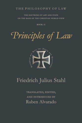 Principles of Law 9789076660035