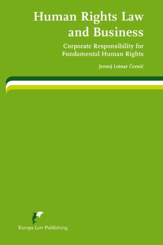 Human Rights Law and Business: Corporate Responsibility for Fundamental Human Rights 9789089520814