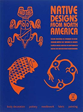 Native Designs from North America [With CDROM] 9789081054379