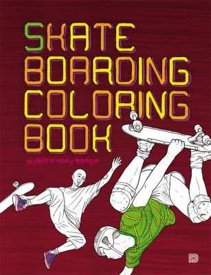 Skateboarding Coloring Book 9789185639458