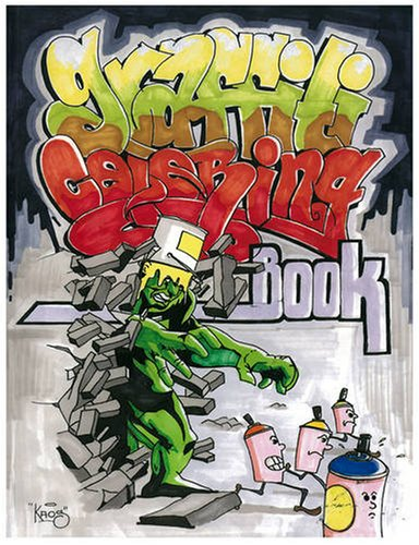 Graffiti Coloring Book 9789185639083