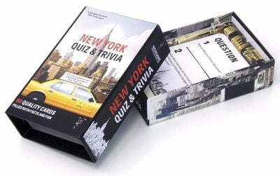 New York Quiz & Trivia: 60 Quality Cards Filled with Facts and Fun 9789185869831
