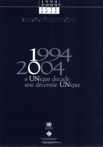 1994-2004: A Unique Decade 9789210567152