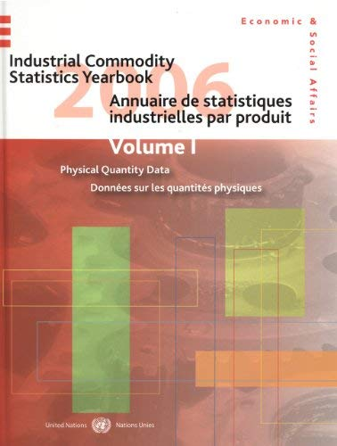 Industrial Commodity Statistics Yearbook 2006 9789210612647