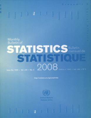 Monthly Bulletin of Statistics May 2008 9789210612340
