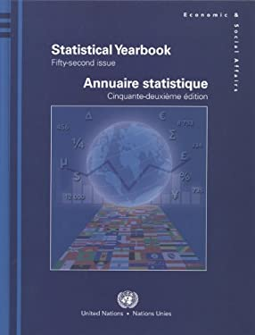Statistical Yearbook: Fifty-Second Issue 9789210612470