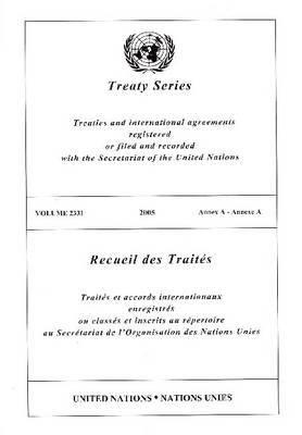 Treaty Series 2331 I: Annex a 9789219003583