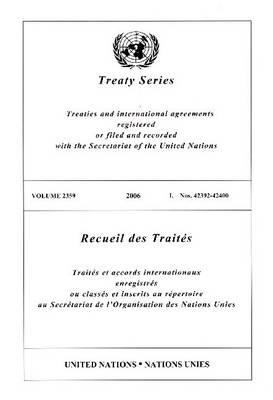 Treaty Series 2359 I: 42392-42400 9789219003828