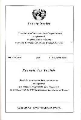 Treaty Series 2360 I: 42401-42426 9789219003835