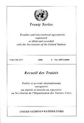 Treaty Series 2377 I: 42872-42884 9789219003866