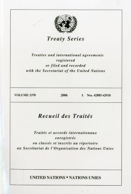 Treaty Series 2378 I: Nos. 42885-42918 9789219003873