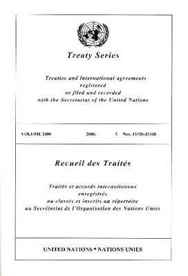 Treaty Series 2400 I: 43320-43348 9789219003910