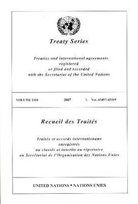 Treaty Series 2410 I:43497-43509
