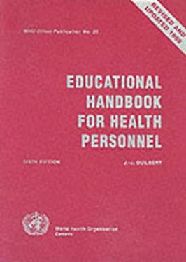 Educational Handbook for Health Personnel 9789241706353