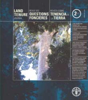 Land Tenure Journal 9789250070315