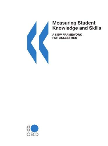 Measuring Student Knowledge and Skills: A New Framework for Assessment 9789264170537