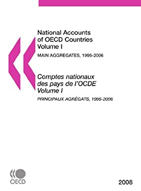 National Accounts of OECD Countries: Volume 1: Main Aggregates 1995-2006 9789264041561