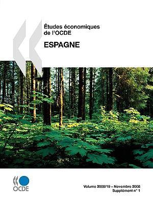 Etudes Conomiques de L'Ocde: Espagne 2008 9789264056084