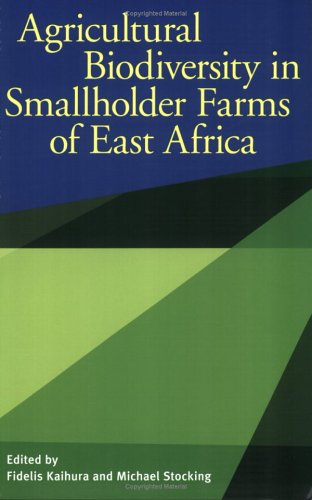 Agricultural Biodiversity in Smallholder Farms of East Africa 9789280810882