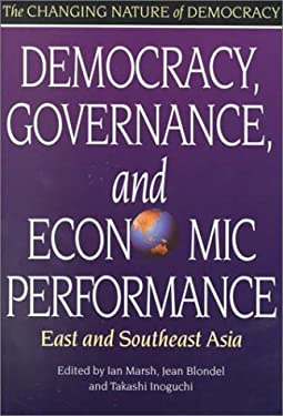 Democracy, Governance, and Economic Performance: East and Southeast Asia 9789280810394