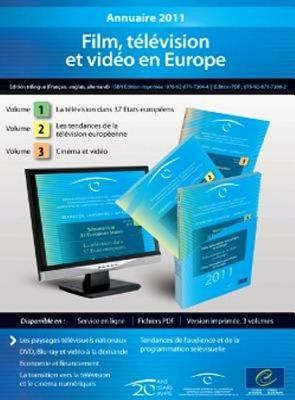 European Audiovisual Observatory: Yearbook 2011 - Film, Television and Video in Europe (3 Volumes, 17th Edition) (09/02/2012)
