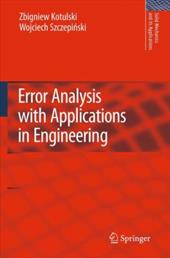 Error Analysis with Applications in Engineering 18997287