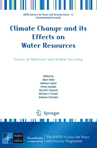 climate change and its effects on Addressing this wide spectrum of issues, a team of expert authors discusses here  the impacts of climate change on the global water resources, the long-term.