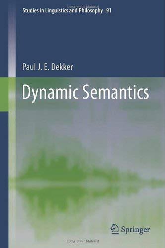 Dynamic Semantics 9789400748682