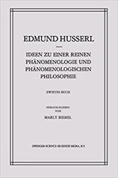 Ideen Zu Einer Reinen Phanomenologie Und Phanomenologischen Philosophie: Phanomenologische Untersuchungen Zur Konstitution 21015910