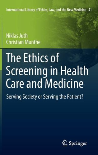 The Ethics of Screening in Health Care and Medicine: Serving Society or Serving the Patient? 9789400720442
