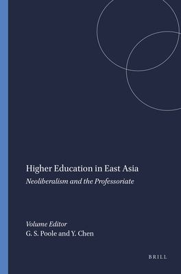 Higher Education in East Asia 9789460911262