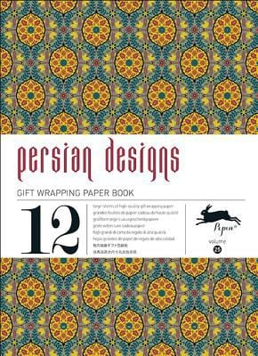 Gift Wrap Paper Book Vol 25 Persian Designs 9789460090370