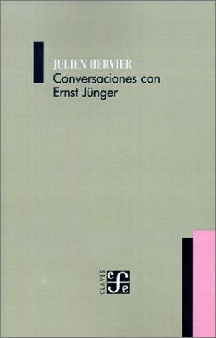 Conversaciones Con Ernst Junger 9789505571451