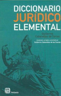 Diccionario Juridico Elemental 9789508850836