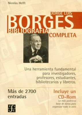Jorge Luis Borges: Bibliografia Completa 9789505572380