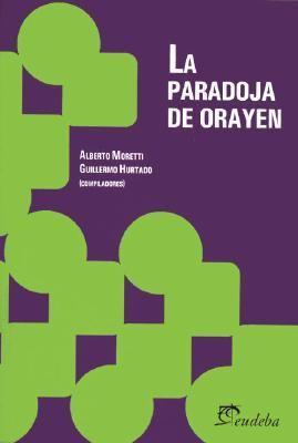 La Paradoja de Orayen 9789502312873