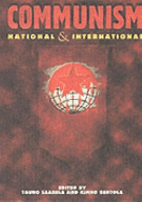 Communism: National and International 9789517100793