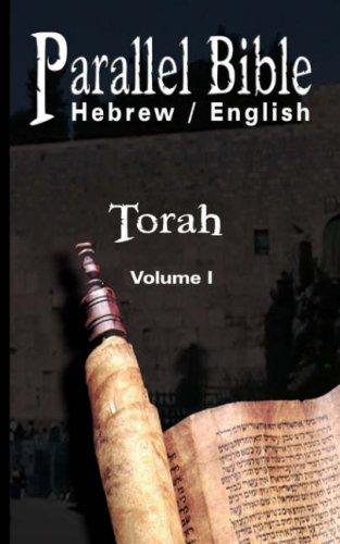 Parallel Bible Hebrew / English: Tanakh, Biblia Hebraica - Volume I: Torah 9789562914826
